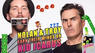 Nolan North and Troy Baker Earn Their Wings on Kid Icarus