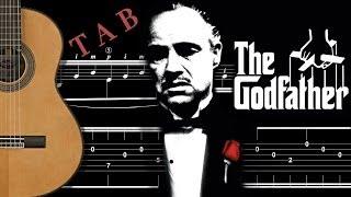 TUTO - GODFATHER / LE PARRAIN - tablature - FINGERSTYLE GUITAR