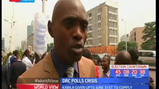 DRC opposition members threaten to protest if Kabila does not release a clear a election calendar