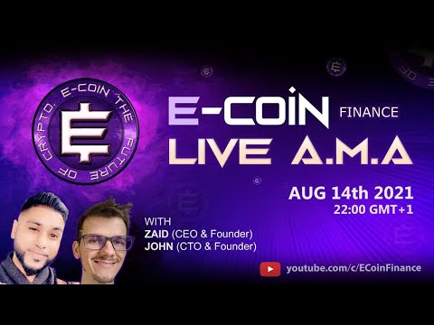E-Coin Finance LIVE A.M.A Episode #1 (Investment Ideas)