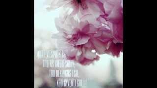 Gintarė Dragūnaitė - ''Mano Viešpats esi''