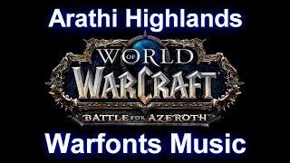 Stromgarde Warfront Music   Arathi Highlands Warfronts Music (Complete) - Battle for Azeroth Music
