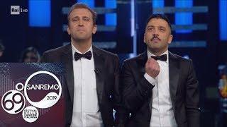 """Sanremo 2019   Pio E Amedeo: """"Vogliamo Il Baglioni Tris"""""""