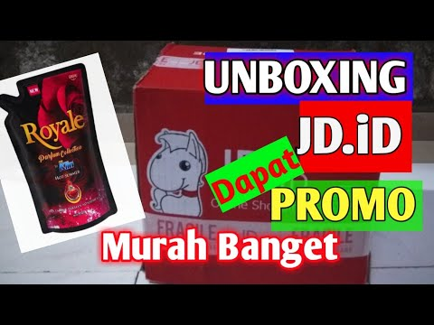 UNBOXING Paketan JD.iD Dapat Harga Promo