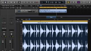 Sampling in LOGIC PRO X — Part 2: Transients