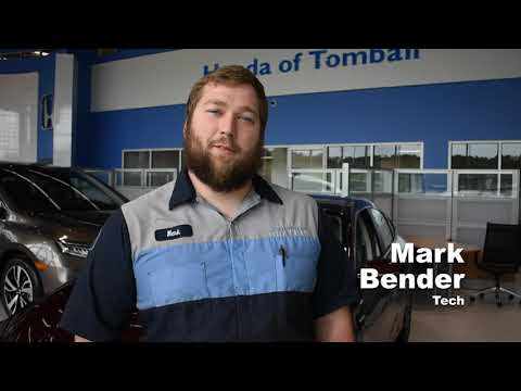 Technician Mark Bender