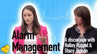 View the video Alarm Management in the Nursing Workplace