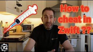 How to cheat zwift