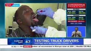 Why there is no testing of Drivers on Kenyan side
