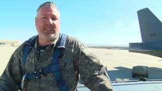 B52 aerial footage