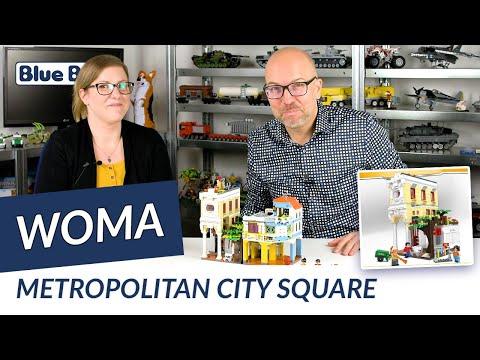 Großstadt: Marktplatz
