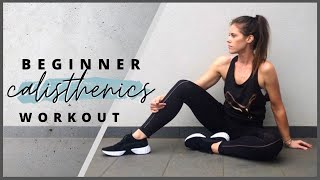 Beginner Calisthenics Workout At Home - No Equipment Required
