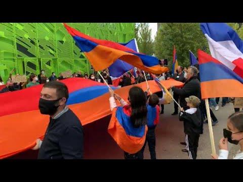 Διαδηλώσεις Αρμενίων σε πολλές ευρωπαϊκές πόλεις