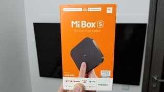 Xiaomi Mi TV Box S 4K ► HDR, Android TV 8.1, Global Version!