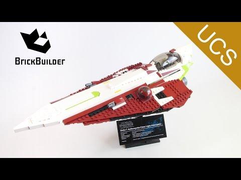Vidéo LEGO Star Wars 10215 : Obi-Wan's Jedi Starfighter