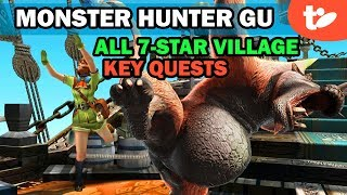 Let's Start MHGU! All 7-Star Village Key Quests, 8-Star Urgent | Monster Hunter Generations Ultimate