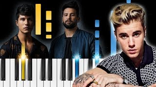 Dan + Shay, Justin Bieber   10,000 Hours   Piano Tutorial