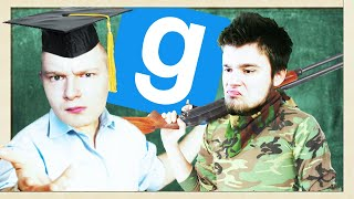 NAUKA STRZELANIA Z SHOTGUNA! | Garry's mod (With: EKIPA) #707 - TTT [#129] #Bladii