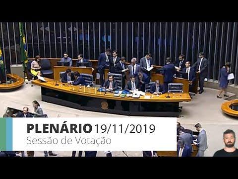 Plenário - PEC 48/19 -Transferência de recursos federais a Estados, DF e Municípios - 19/11/19-20:23