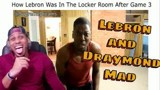 NBA FINALS 2017 ALL LOCKER ROOM VIDEOS LEBRON AND GOLDEN STATE REACTION