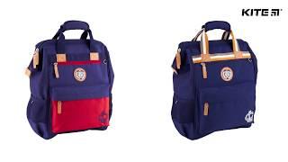 """Рюкзак Kite College Line K18-885M-1 от компании Интернет-магазин """"Радуга"""" - школьные рюкзаки, канцтовары, творчество - видео"""