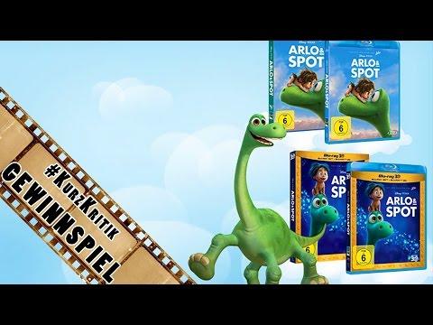 ARLO & SPOT - DVD / BluRay gewinnen! | Gewinnspiel - Verlosung | #KurzKritik