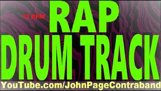 Rap Hip Hop Drum Beat Track DRUMS ONLY Free 72 bpm