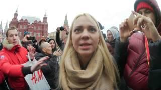Кто облил зеленкой Навального?/Митинги в Москве/ подставные актеры КГБ