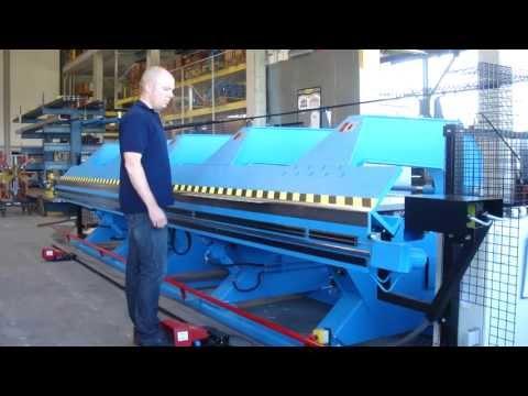 Jorns NORMA-LINE-125SW-RH-SL-CNC800-6.4-shs - Zaginarka Hydrauliczna - zdjęcie
