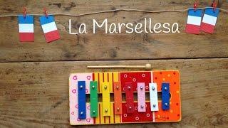 Aprende canciones con xilófono: La marsellesa himno de francia