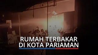 Rumah dan Kedai di Kota Pariaman Ludes Terbakar, Diduga karena Korsleting Listrik