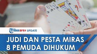 Pesta Miras dan Judi di Tengah Pandemi, 8 Pemuda di Maumere Dihukum Berendam di Kolam Sampah