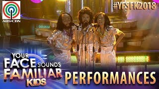 Your Face Sounds Familiar Kids 2018: TNT Boys as Bee Gees   Too Much Heaven