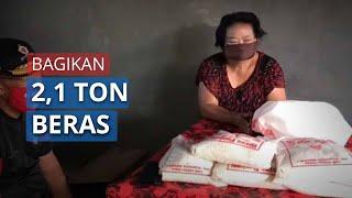 Anggota DPR RI I Wayan Sudirta Bagikan 2,1 Ton Beras dan Temui Istri Tokoh KORdEM