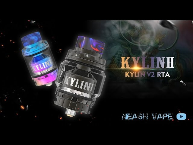 Vandyvape Kylin V2 - Review and Wicking Turorial