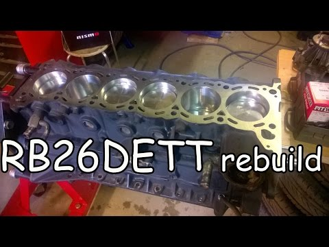 Фото к видео: RB26DETT rebuild, reinforcements and improvements. Nissan Skyline GT-R