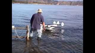 The First Flight of Tom Wolf's 1/16 Scale Boeing B-314 Flying Boat