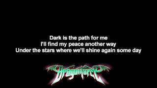DragonForce - Symphony Of The Night | Lyrics on screen | Full HD