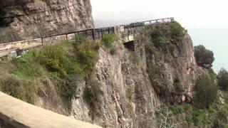 Italy:  Amalfi Coast Drive from Sorrento to Positano