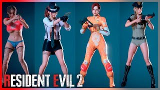 Resident Evil 2 Mods Best and Sexiest Costumes