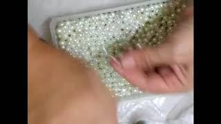 Handmade Pearl Beaded Bead Tutorial - Jennings644