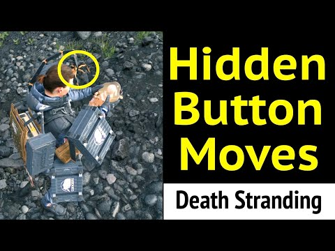 Hidden Button Moves in Death Stranding: Noobs, Beginners, and Pros
