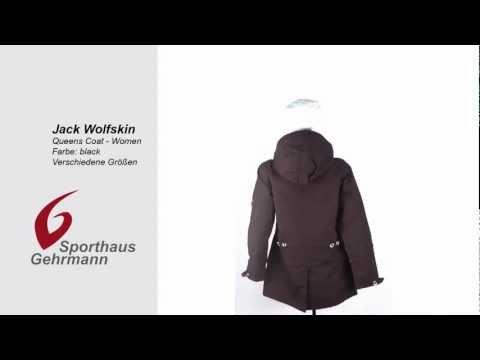 Jack Wolfskin Queens Coat black -Women