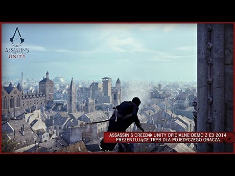 Assassin's Creed Unity - oficialne demo z E3 2014