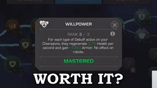Is Willpower Worth it in 2018? | Marvel Contest of Champions - Video Youtube