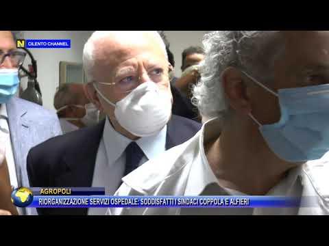 Riorganizzazione servizi ospedalieri: soddisfatti i sindaci Coppola e Alfieri