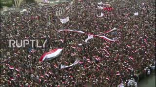 Yemen: Hundreds of thousands protest Saudi-led military intervention in Sanaa