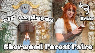 Exploring Sherwood Forest Faire as an Elf