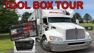 SNAP ON REPO TOOL BOX TOUR