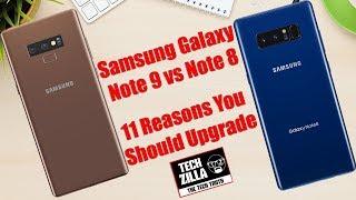 Samsung Galaxy Note 9 vs Galaxy Note 8: Should you Upgrade?